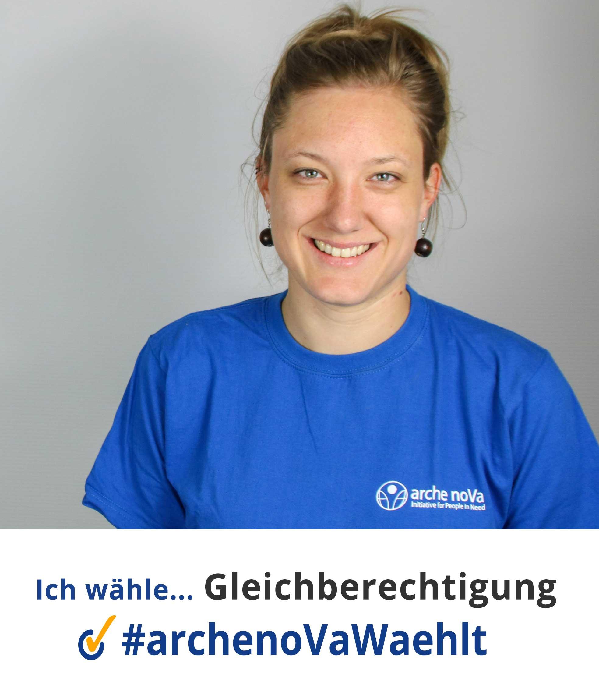 Janina / arche noVa ww'hlt Landtagswahlen Sachsen 2019
