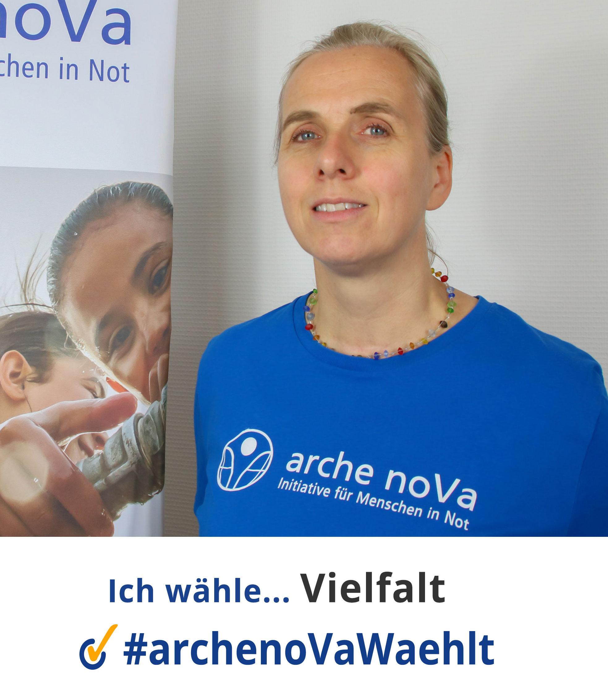 Meike - arche noVa w?hlt zur Landtagswahl in Sachsen 2019