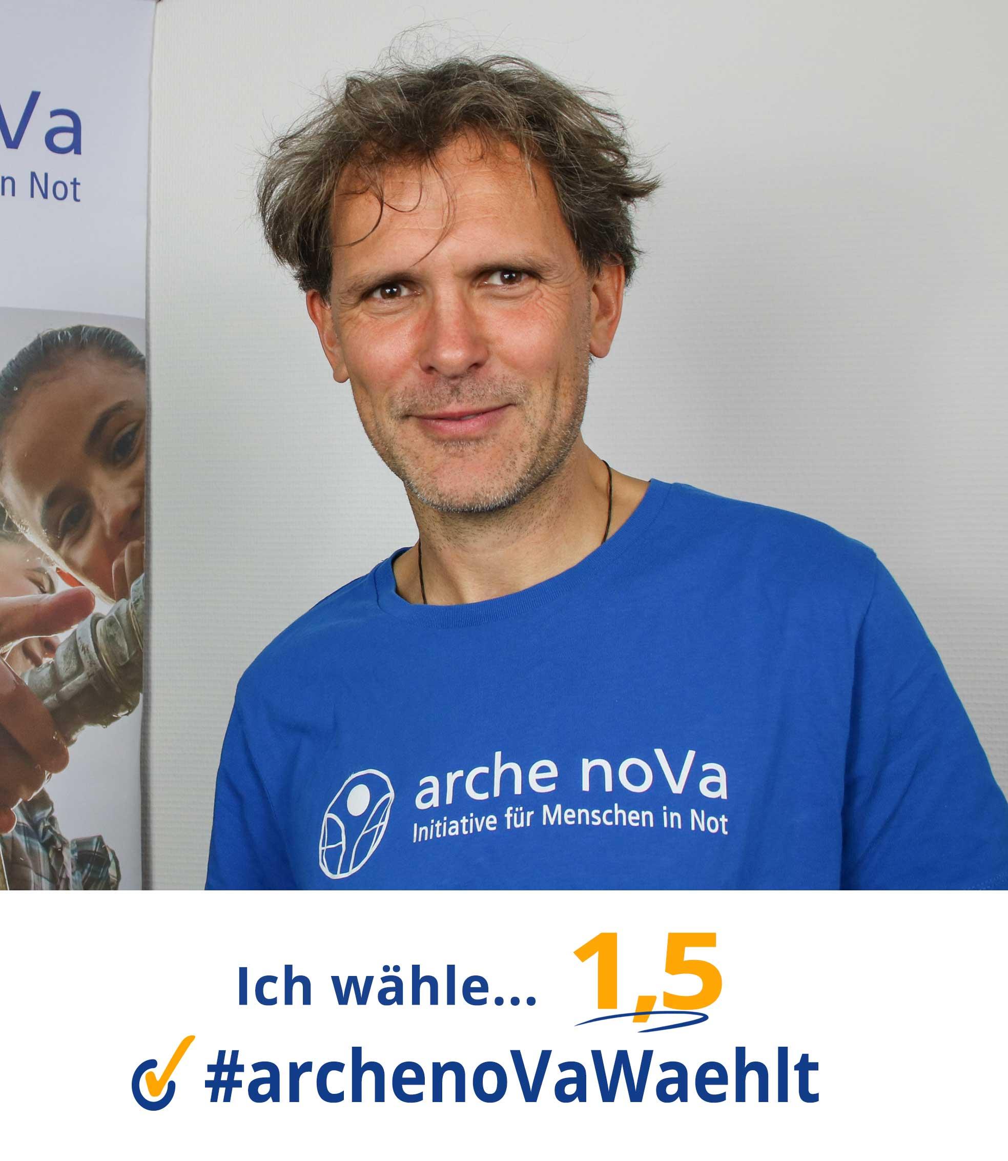 Ronny - arche noVa wählt zur Landtagswahl in Sachsen 2019