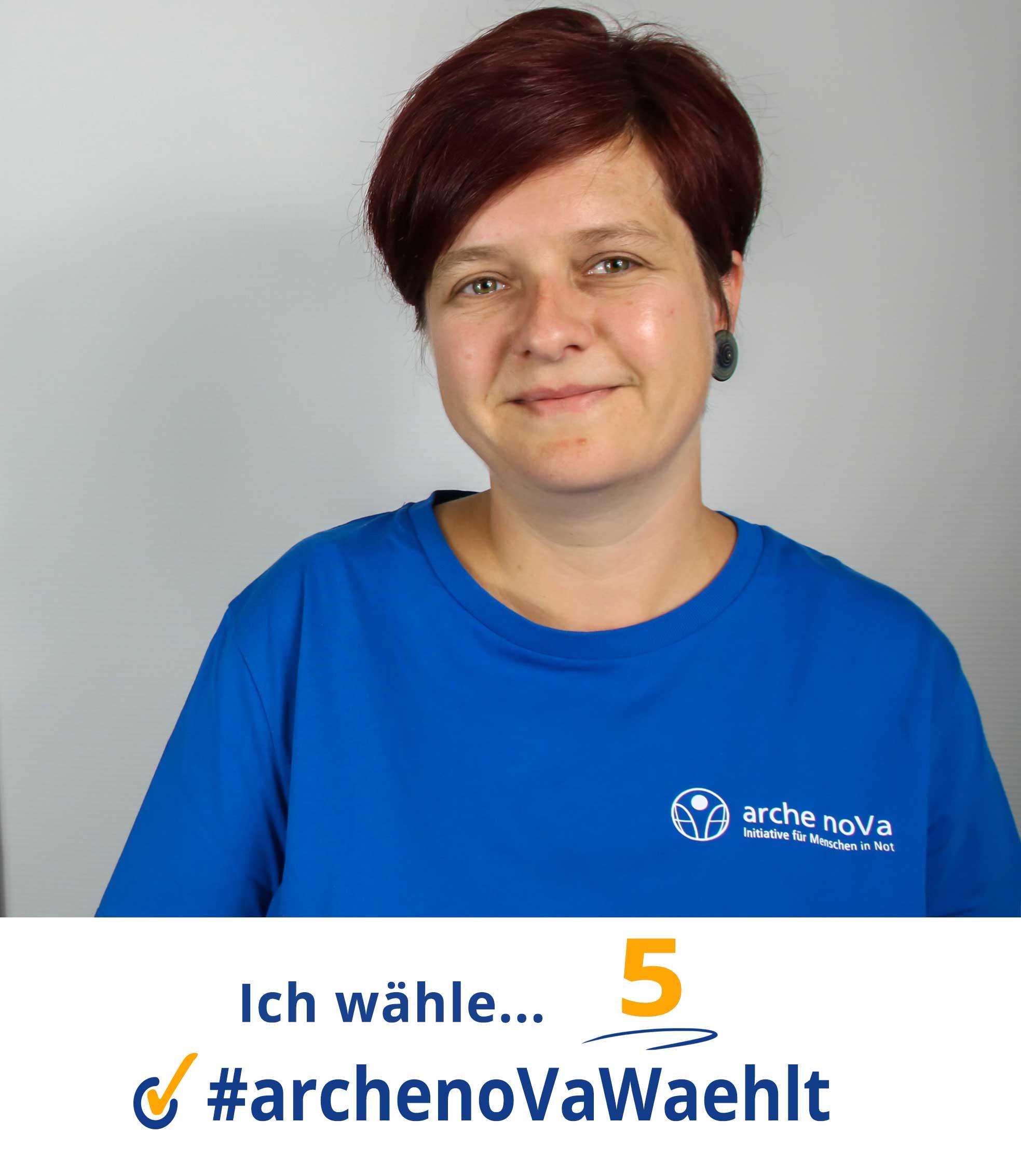 Claudia - arche noVa w?hlt zur Landtagswahl in Sachsen 2019