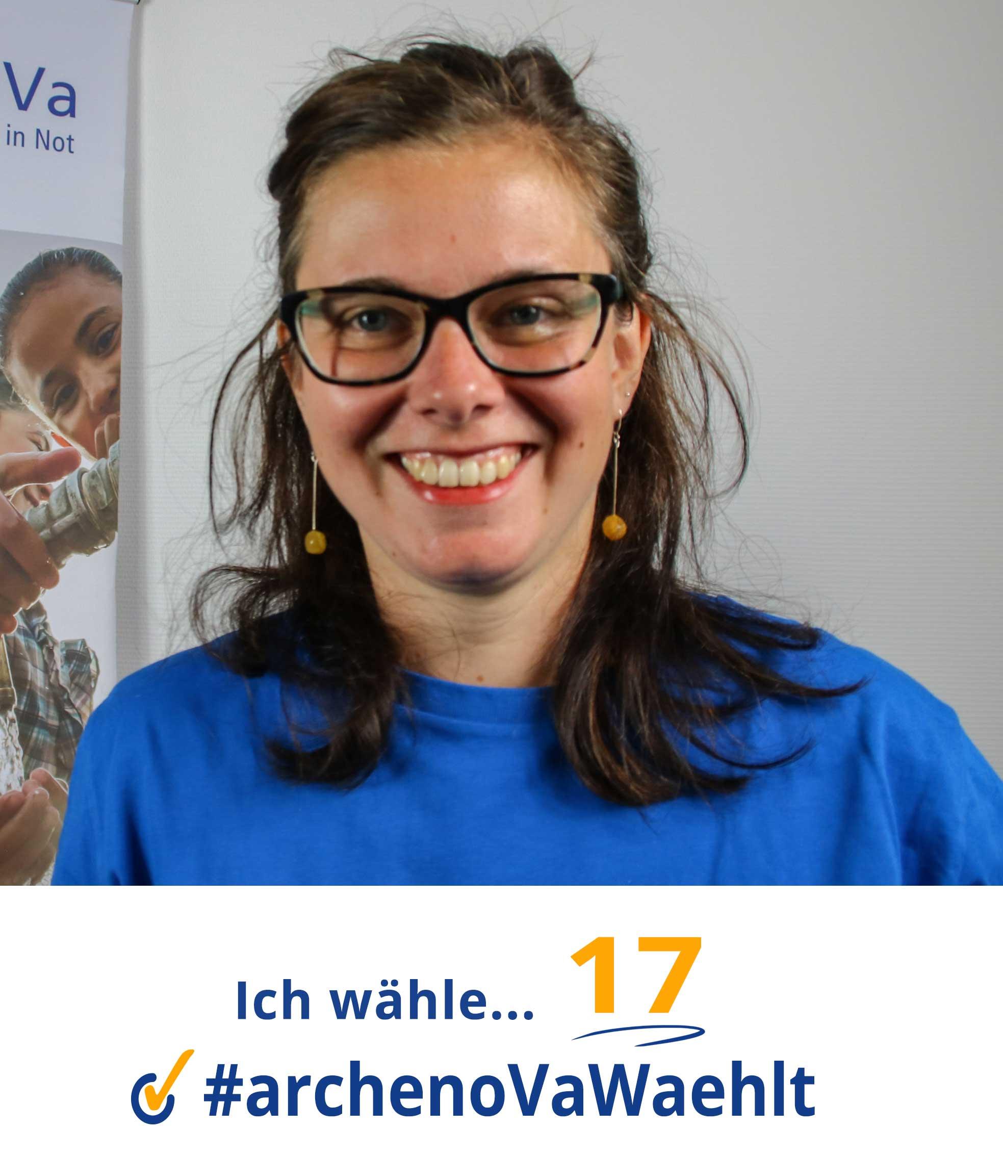 Bild von Magdalena mit Zitat zur Landtagswahl in Sachsen 2019